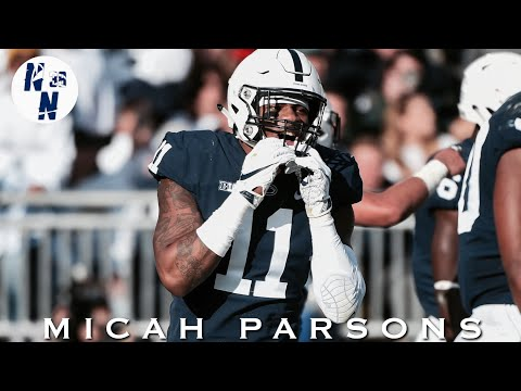 "Micah Parsons Penn State Highlight Mix   ||   "" Cold Hearted ""   ᴴ ᴰ"
