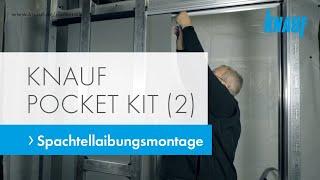 Knauf Pocket Kit - Spachtellaibungsmontage