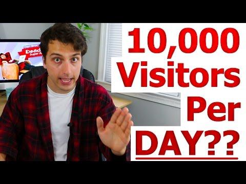 Visitors Per Day Day Google Adsense Income