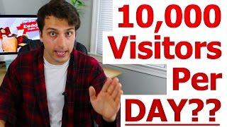 10,000 Visitors Per Day = $100/Day Google Adsense Income?