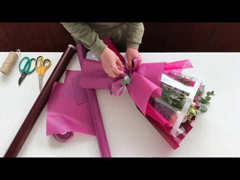 Как собрать букет | Korean Style Bouquet Wrapping | ArtHolidays