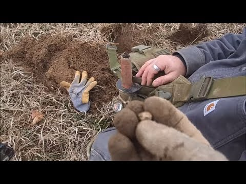 Metal Detecting A Civil War Camp: Relics!
