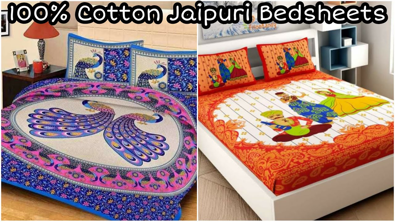 आधे रेट में जयपुरी बैडशीट | Cotton Bedsheets Retail wholesale bedsheet market in delhi chandni chowk