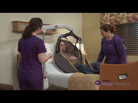How To Use Hoyer Presence Professional Power Patient Lift?