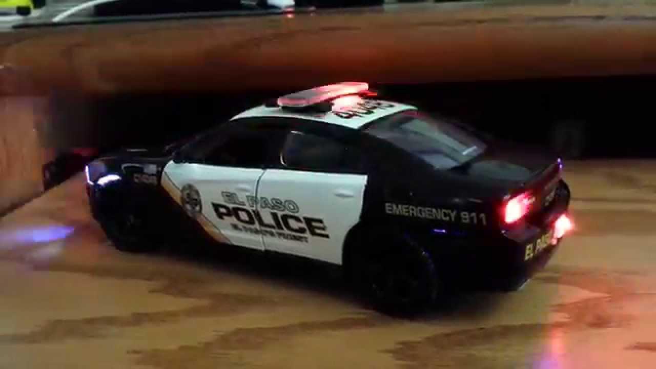1 24 El Paso Tx Police Led Model Toy Youtube