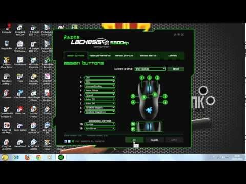 Setting Mouse Macro RAZER untuk Game Point Blank