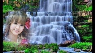 Waterfall Nature Photo Frame || Waterfall Image Maker || HD Waterfall Photo Frame in 5 minutes