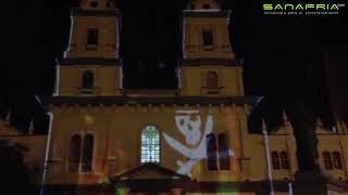 Mapping Proyección histórica fachada de San Francisco y el Municipio de Guayaquil Sanafria