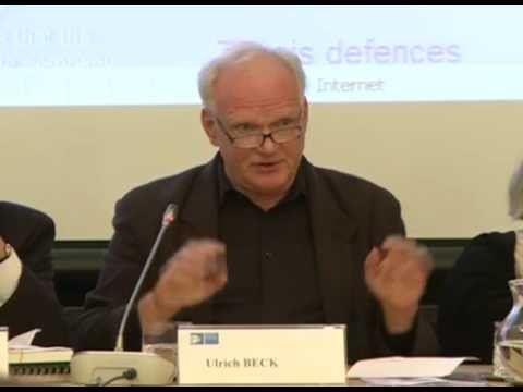 Ulrich Beck: 'Europe at Risk: The Cosmopolitan Turn'