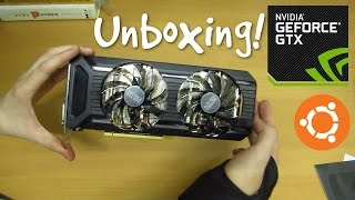 Unboxing the Palit GTX 1070 8GB Dual Fan