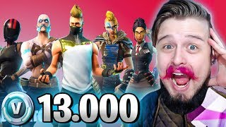 I SPENT 13,000 V BUCKS BUYING EVERYTHING FROM SEASON 5 (Fortnite Battle Royale)