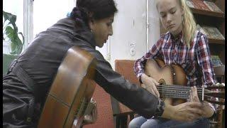 Слепое обучение на гитаре результат сразу! МЕТОДИКА ЮДИНОЙ
