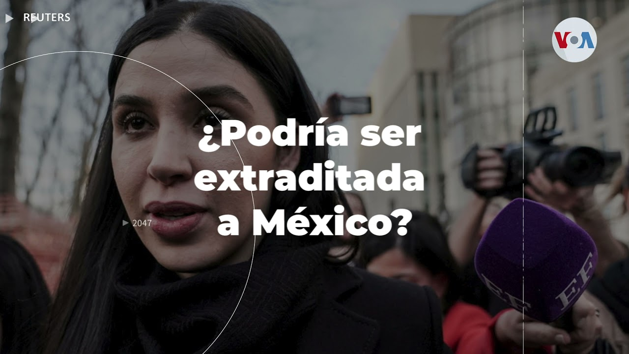 """Esposa de """"El Chapo"""" se declara culpable de trfico drogas"""