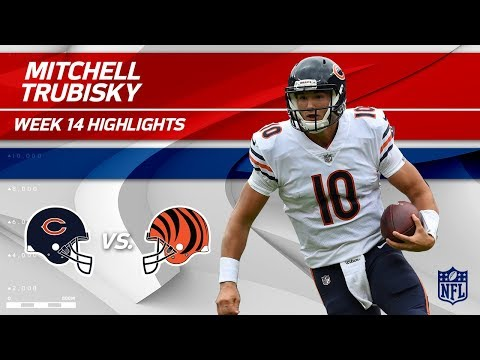 Mitchell Trubisky Leads His Team to a Big Win vs. Cincy! | Bears vs. Bengals | Wk 14 Player HLs