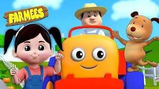 Farmer In The Dell | Songs for Children | Videos for Babies