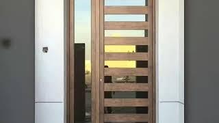 اشكال ابواب المنيوم 2019 مميزة للحمامات والغرف والابواب الرئيسية 0541512283 Youtube