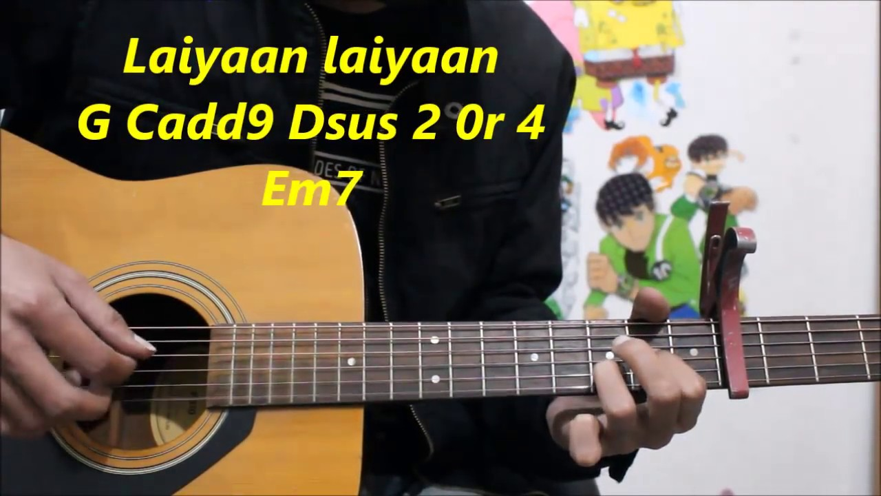 2018 Year 4 Chords 10 Songs Em D C G Simplest Hindi Guitar