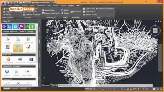 Rilievo CAVA: Modello 3D, Curve di Livello ed Animazione