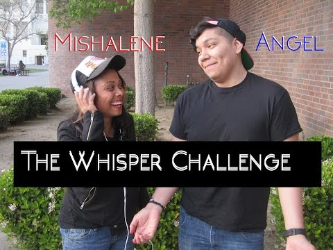 The Whisper Challenge with Angel
