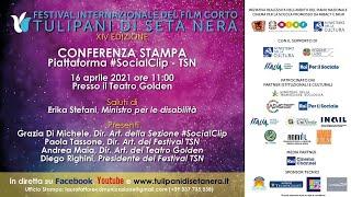 Conferenza stampa per la sezione #Socialclip del Festival TSN