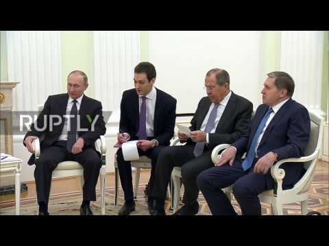 Russia: Putin meets Sri Lankan Pres. Sirisena in Moscow to strengthen bilateral ties