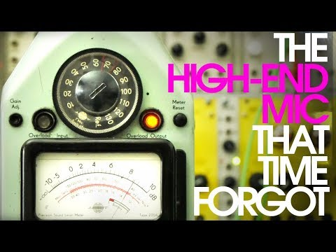 The High-End Recording Microphone That Time Forgot