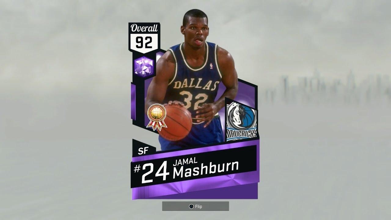 NBA2k17 MyTeam Amethyst Jamal Mashburn Review