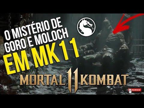 MORTAL KOMBAT 11 - O MISTÉRIO DE GORO E MOLOCH EM #MK11 #TEORIA thumbnail