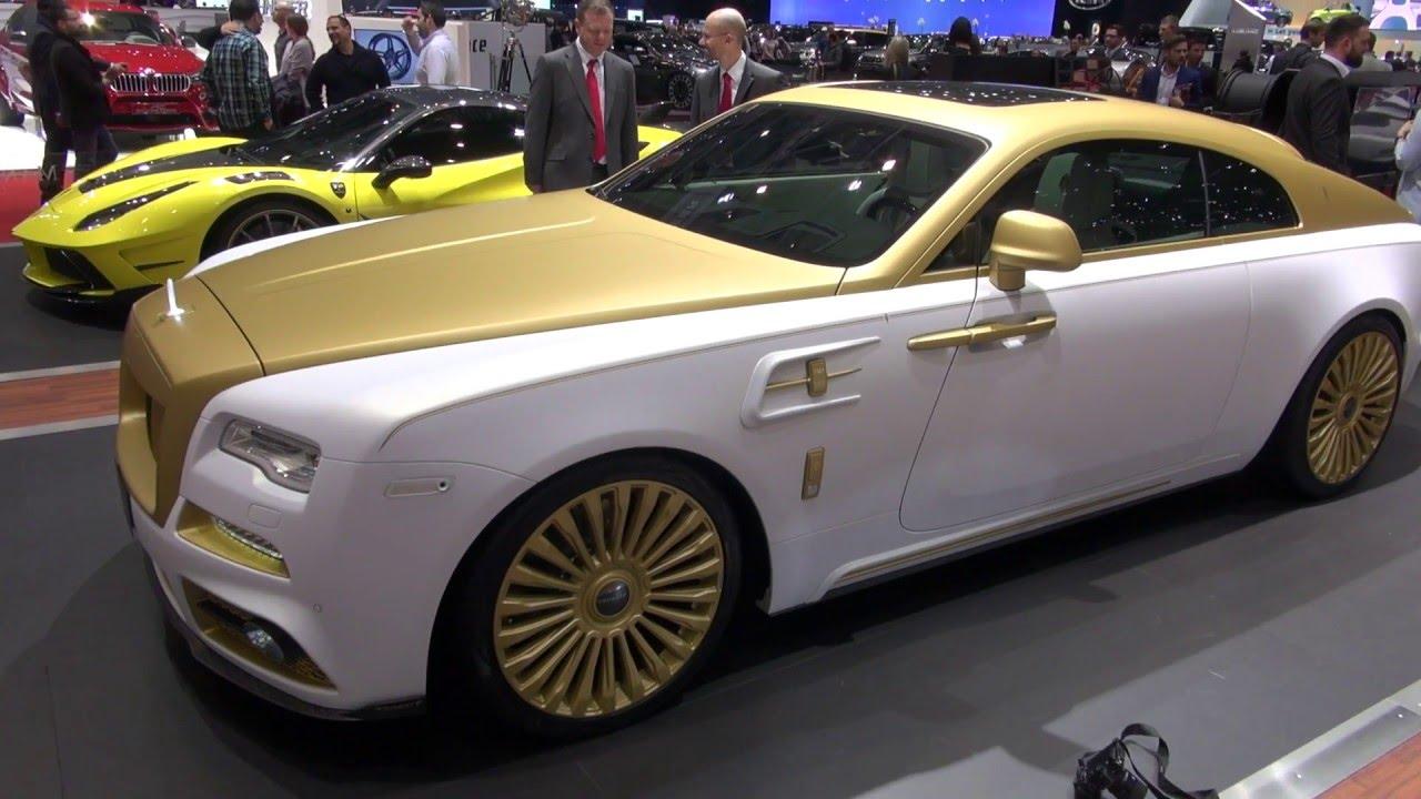 Mansory Rolls Royce Wraith Palm Edition Nr 999 Geneva 2016