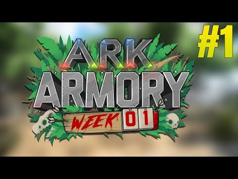 ARK ARMORY! - CAPTURE THE DODO! - Ark Survival Evolved Armory #1 Week 1