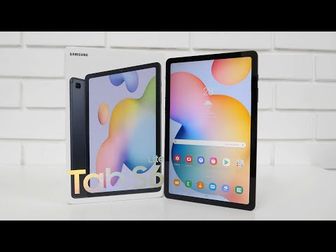 Samsung Galaxy Tab S6 Lite Unboxing & Overview Mid-Range Android Tablet
