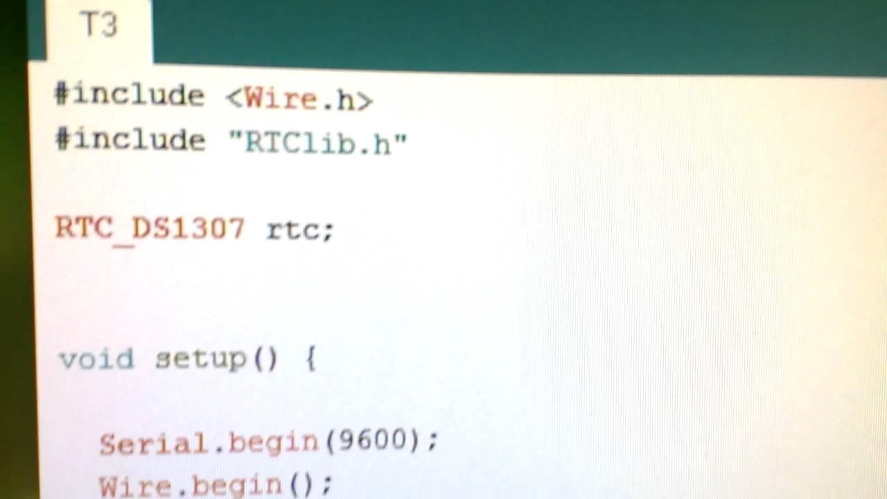 rtclib.h arduino