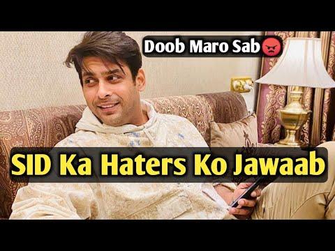SID Ka Bhi Hater Ko Karaara Jawaab😠 | Doob Maro Sab😏 | Trending World