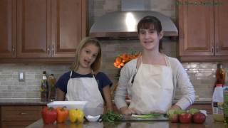 Apple Salsa Recipe - Kids Cooking Show Video Food Recipes