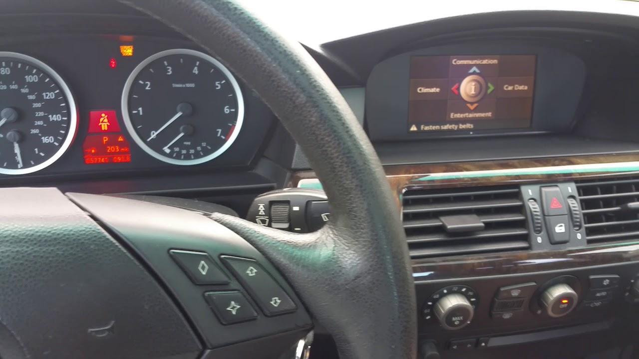 BMW transmission fault