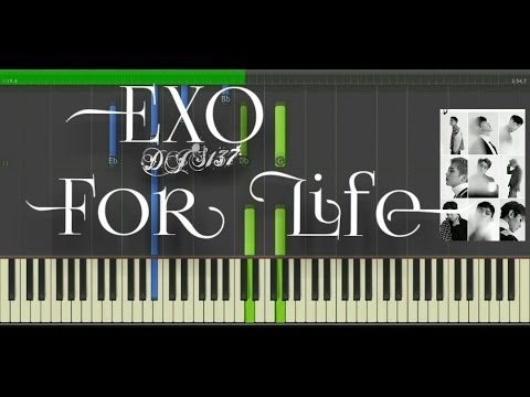 EXO - For Life Piano Cover [Sheets]