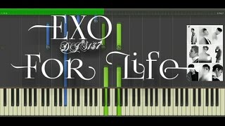 Repeat youtube video EXO - For Life Piano Cover [Sheets]
