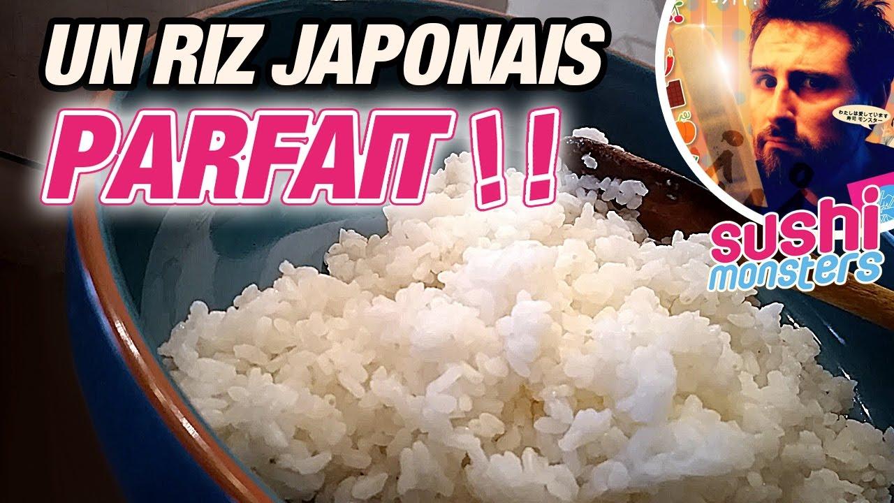 cuire le riz japonais une cuisson parfaite youtube. Black Bedroom Furniture Sets. Home Design Ideas