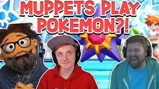 WHEN MUPPETS TAKE OVER.   Pokémon Let's Go Pikachu and Eevee TEAM ROCKET Tri Op #8