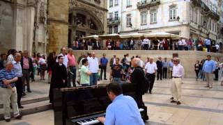 Flash Mob em Coimbra | Coimbra é uma lição...