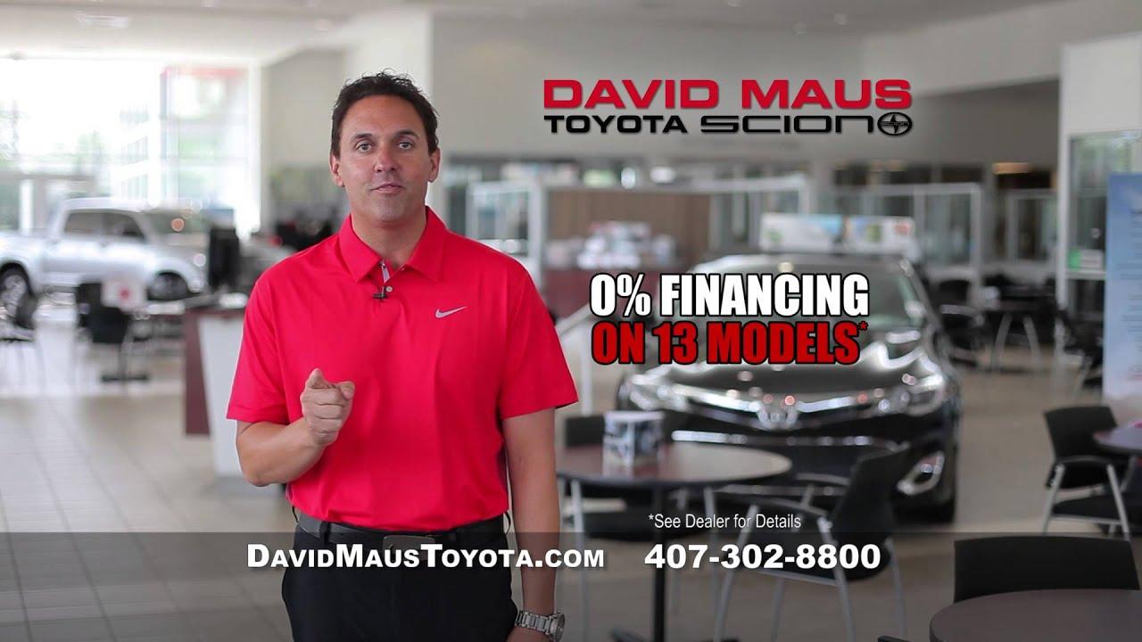 David Maus Toyota Scion   April 2013