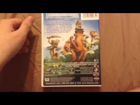 Ice Age Dawn Of The Dinosaurs 2009 Dvd Review Youtube