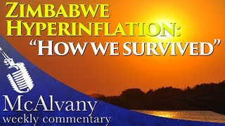 """Zimbabwe Hyperinflation: """"How we survived"""" 