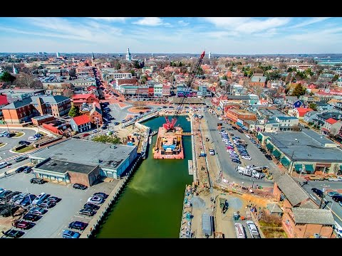 Cianbro Rebuilds the Annapolis City Dock