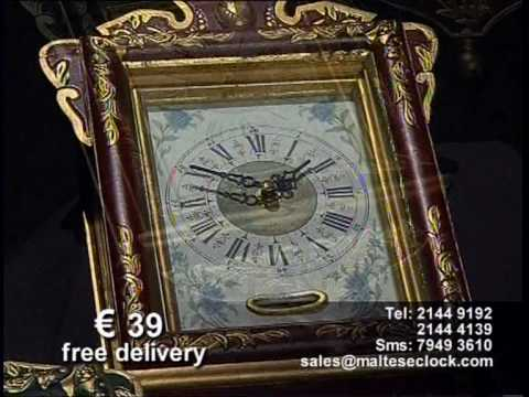 MALTESE CLOCK MINIATURE REPLICA