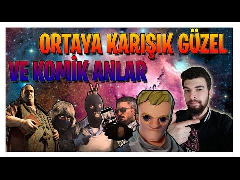 ORTAYA KARIŞIK GÜZEL VE KOMİK ANLAR (Fortnite Outlast CS:GO)