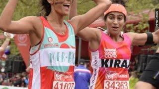 Woman Runs Marathon Without Tampon To De-stigmatize Periods - Newsy