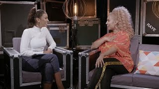 RAYE talks BRITs, chips and dealing with exes