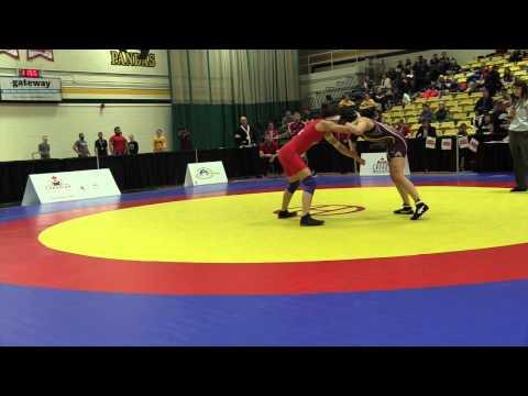 2015 CIS Championships: 51 kg Alexandria Town vs. Nicole Mazara