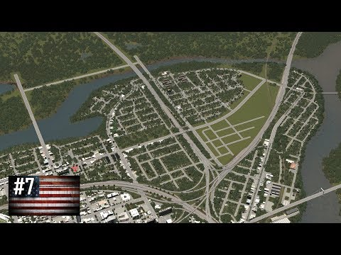 Cities: Skylines - The American Dream #7 - Of sprawling suburbs, apartments and parking lots